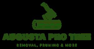 augusta tree service logo green